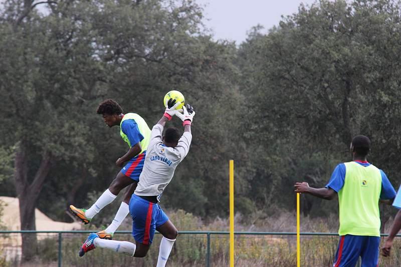 Cabo Verde prepara em Portugal jogo com a Tunísia