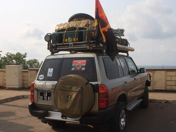 Amigos da picada: de Luanda a Malabo em oito dias