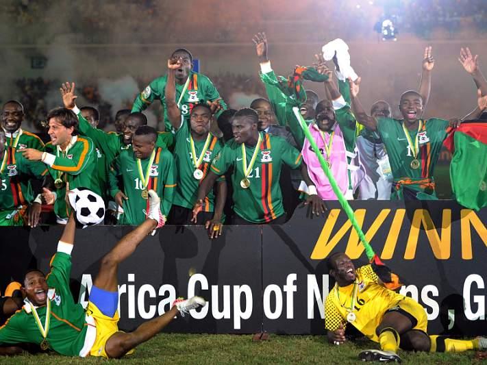 Zâmbia, um campeão movido a dor