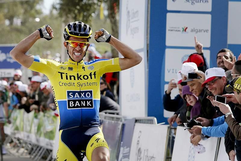 Contador vence quinta etapa do Tirreno-Adriatico