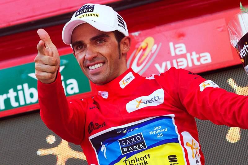 Alberto Contador rendido à superioridade de Chris Froome
