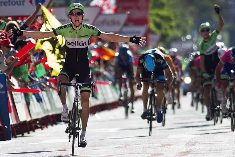 Holandês vence 17.ª etapa da Volta a Espanha