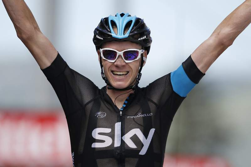 Chris Froome conquista Velo d'Or