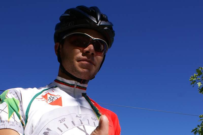 Davide Machado atleta do mês da orientação