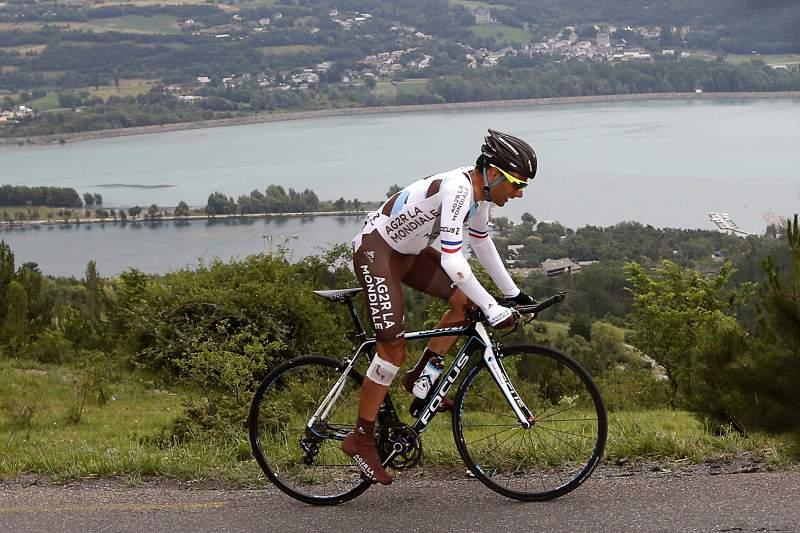 Jean-Christophe Péraud abandona à segunda queda