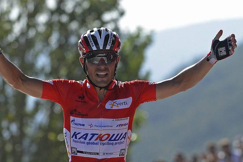 Joaquim Rodriguez reforça primeiro lugar