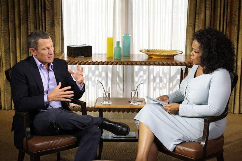 Diretor da agência anti-doping acusa Armstrong mentir a Oprah Winfrey