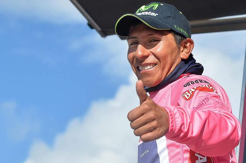 Quintana é o primeiro colombiano a sagrar-se campeão