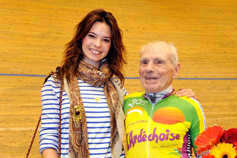 Francês de 102 anos tenta bater recorde pessoal