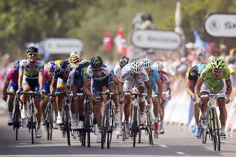 Simon Gerrans vence a terceira etapa ao sprint