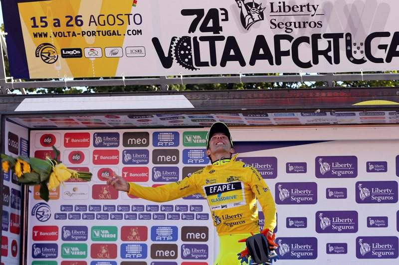 David Blanco diz que podia ter perdido a quinta vitória logo na primeira etapa