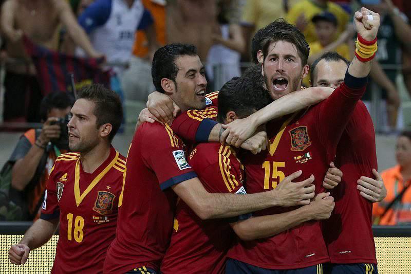 Espanha favorita frente ao Brasil