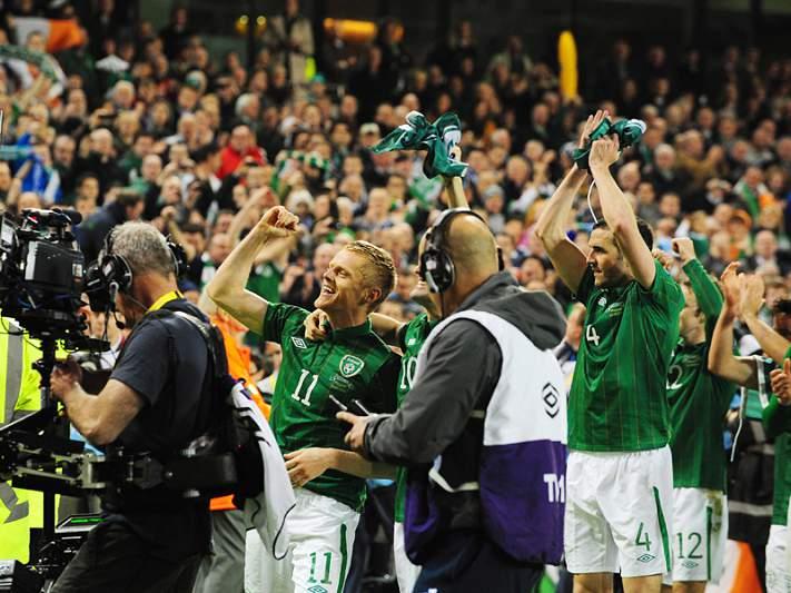 Croácia, Irlanda e República Checa na fase final