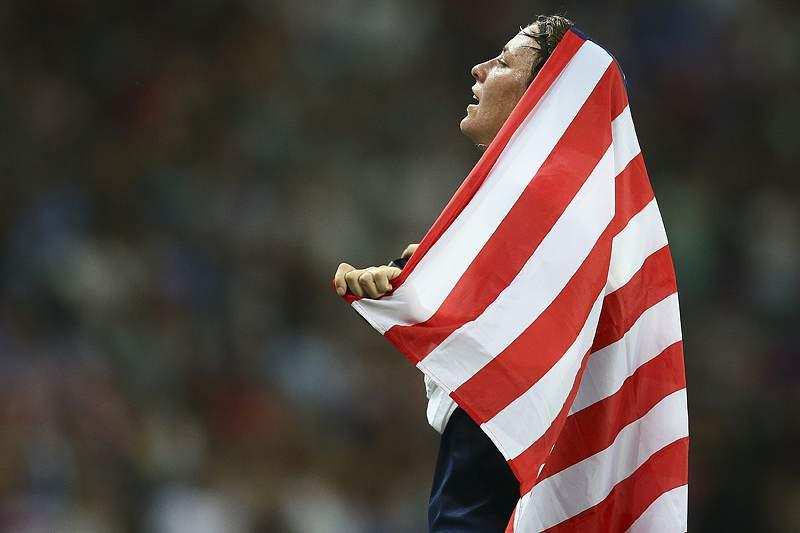Quatro campeãs olímpicas norte-americanas nas 10 candidatas