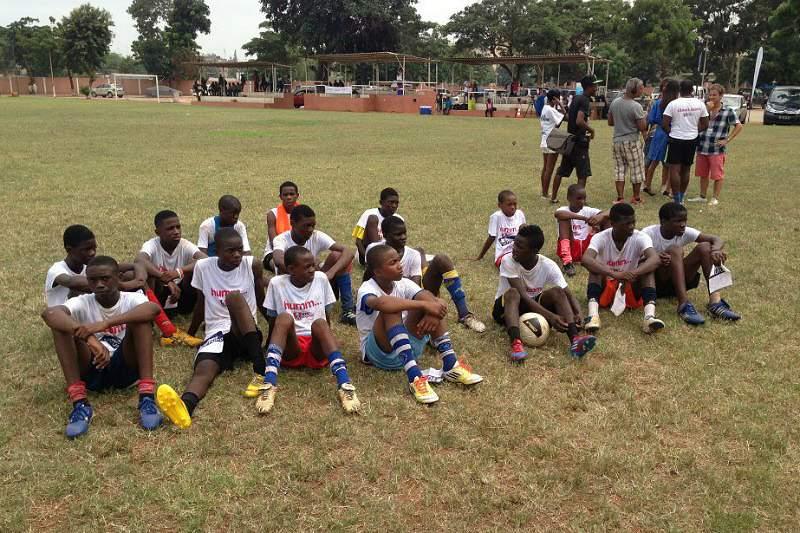TPA 1 procura novos talentos da bola em Angola