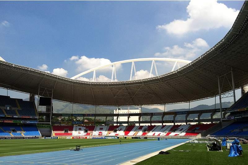 Engenhão, o estádio que durou seis anos