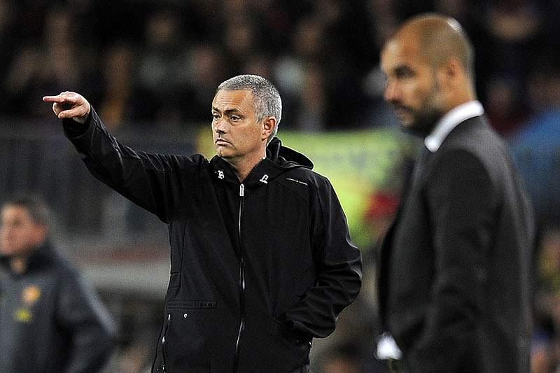 Mourinho e Guardiola reencontram-se na final da Supertaça