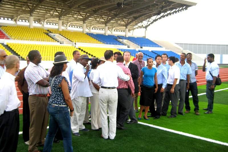 Estádio Nacional vai ser inaugurado em Novembro