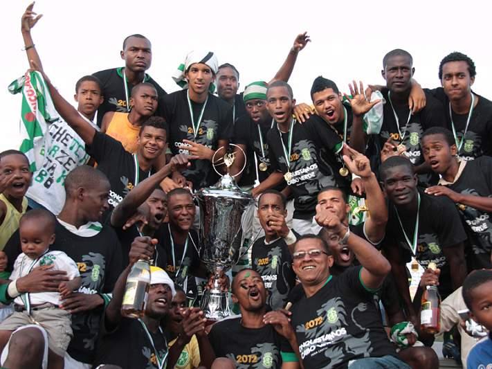 Sporting da Praia é o novo campeão nacional