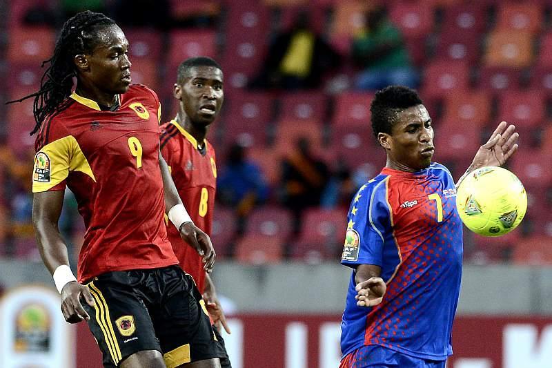 Jogadores angolanos tristes pela eliminação