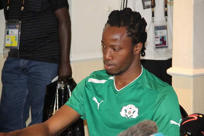 Bakari Koné quer festejar nascimento do filho com vitória sobre Togo