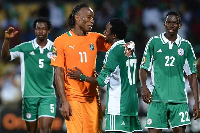 Nigéria abate 'Elefantes' para chegar às meias-finais