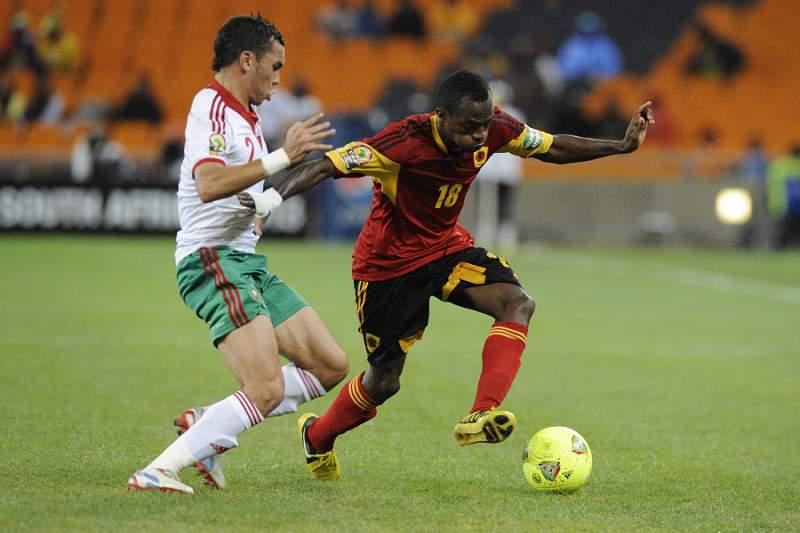 Angola prepara jogo com o Senegal