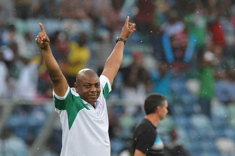 Keshi dedica a vitória ao povo nigeriano e a todos os treinadores africanos