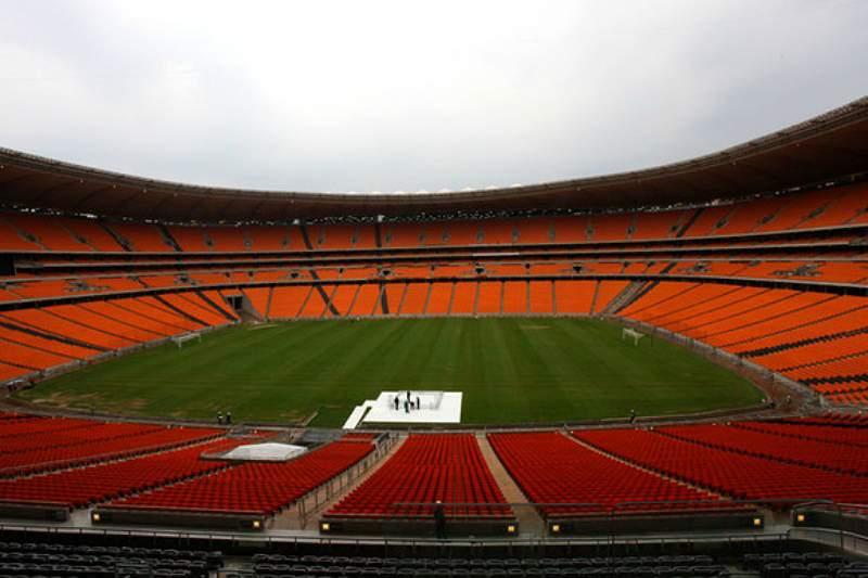 Árbitro angolano no jogo particular entre África do Sul e Brasil