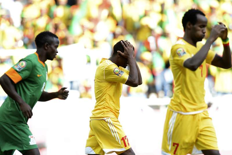 Zâmbia e Etiópia protagonizaram um jogo emotivo