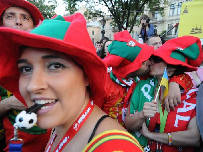 Adoro Portugal e estou com a seleção