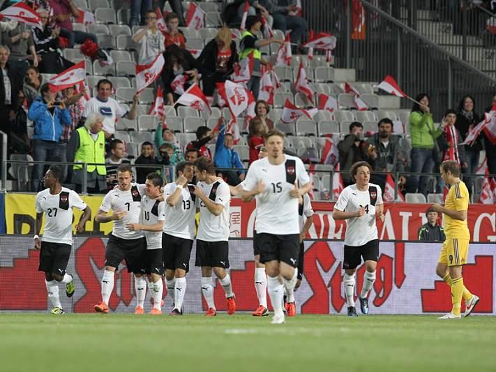 Áustria impõe derrota à Ucrânia