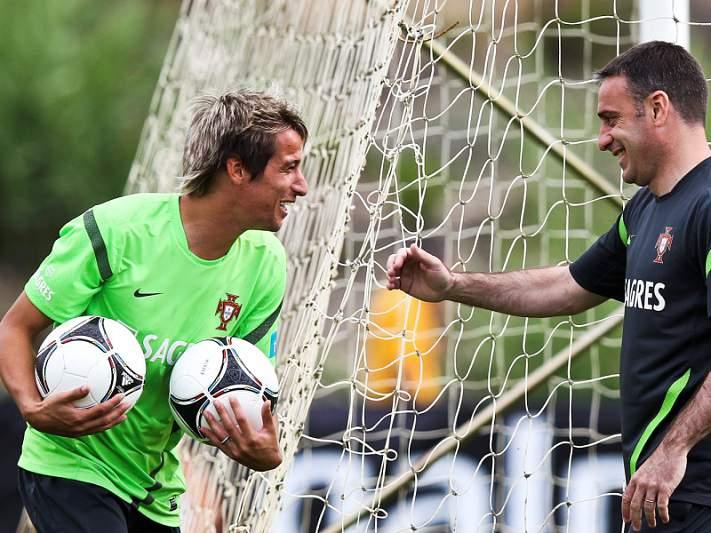 Licá e Nélson Oliveira já treinaram, Coentrão não