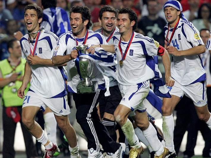 Grécia contra todas as probabilidades, em 2004