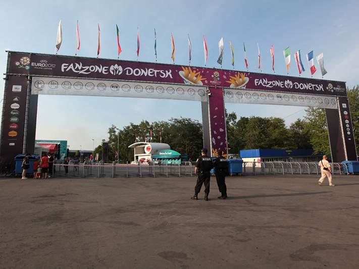 PSP espera pouco mais de 3 mil adeptos para assistir ao jogo de Portugal em Donetsk
