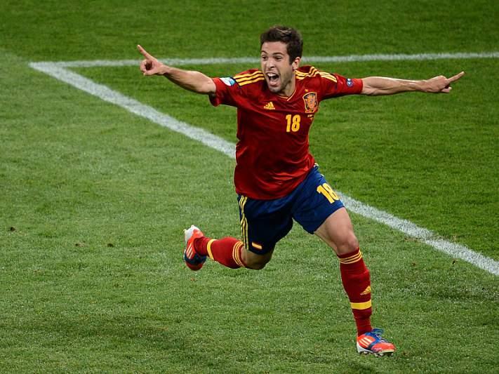 Jordi Alba eleito o melhor em campo