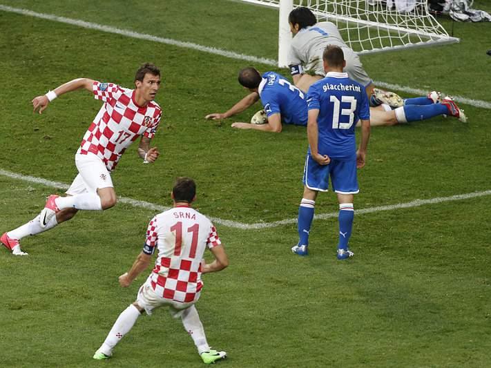 Croácia faz tremer favoritos do Grupo C