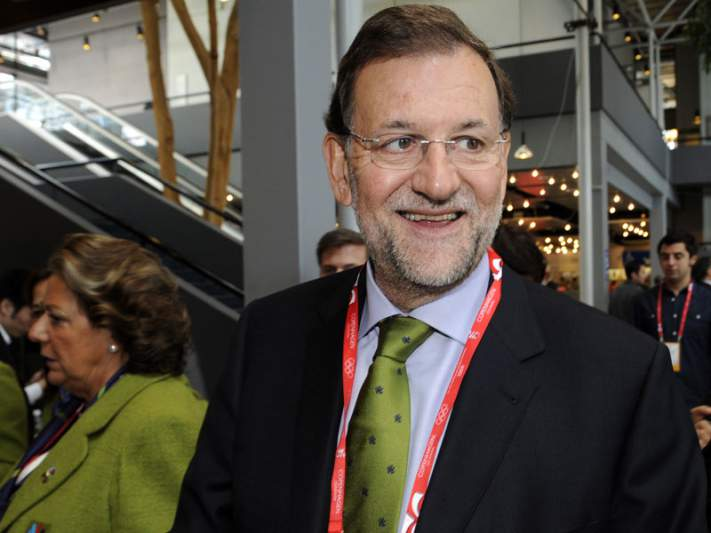 Príncipe Felipe e Mariano Rajoy presentes na final