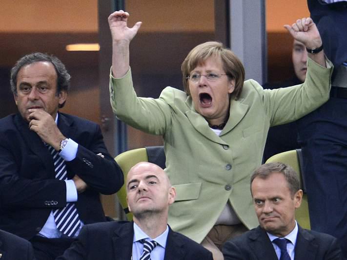 Merkel vai assistir ao encontro entre Alemanha e Portugal