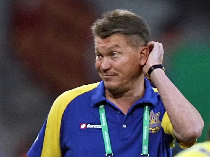 Treinador do Dinamo Kiev hospitalizado