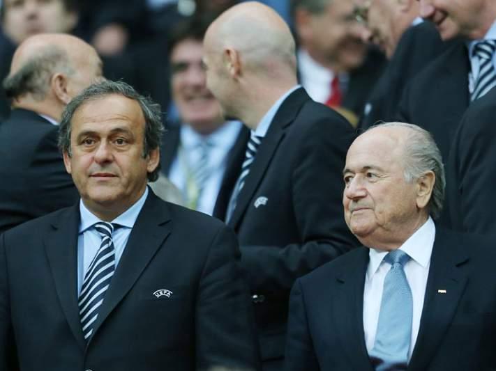 Blatter e Platini assumem posições distintas sobre o Euro2020