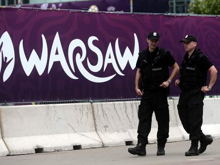 Policia polaca deteve 515 pessoas desde o início da competição