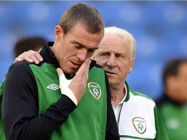 Irlanda quer honrar adeptos frente à Itália