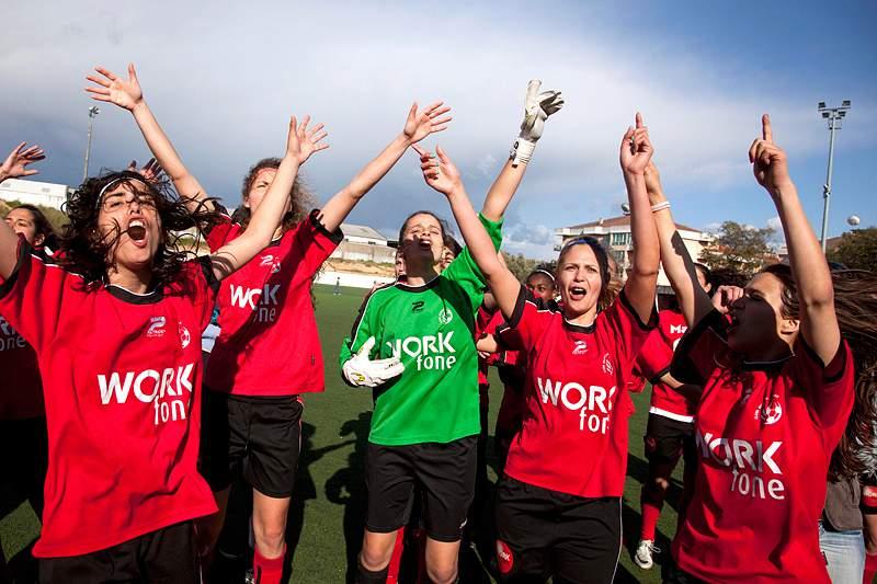 Inês Cruz eleita melhor futebolista feminina de abril