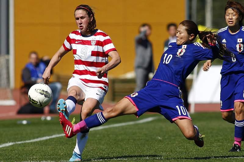 Estados Unidos e Japão empatam no arranque da Algarve Cup