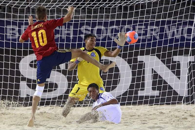 Brasil, Espanha, Rússia e Taiti nas meias-finais