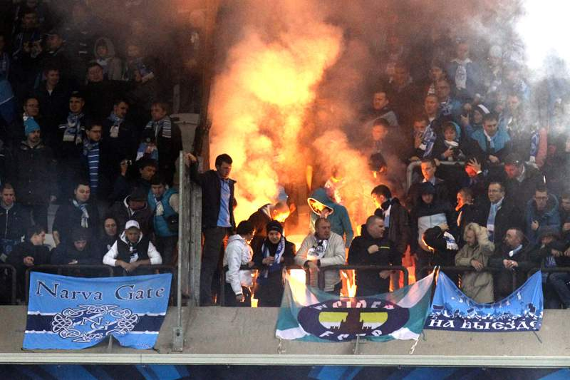 Claque do Zenit contra negros e homossexuais na equipa
