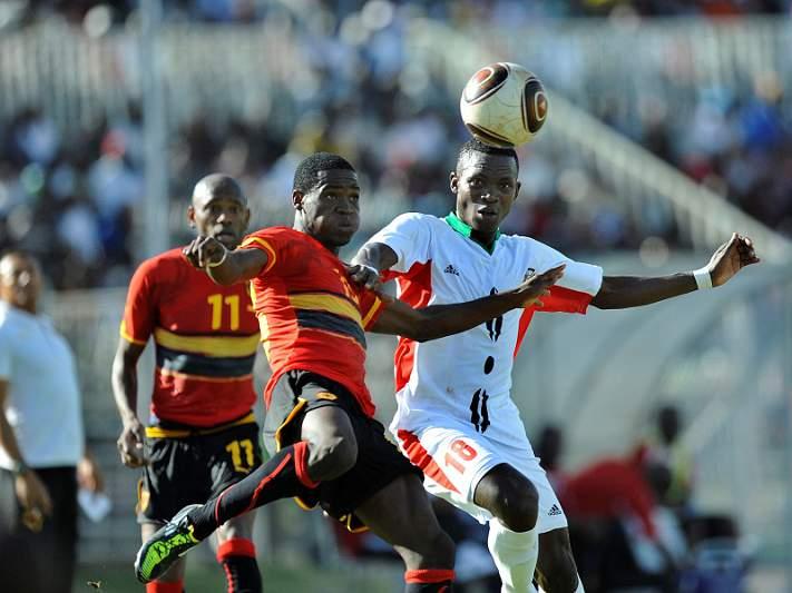 Angola vence Uganda e mantém-se na luta pelo apuramento