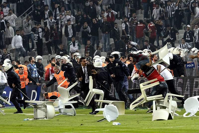 Besiktas – Galatasaray não chega ao fim