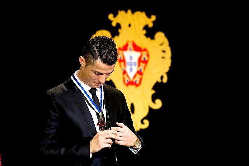 Ronaldo foi o primeiro a chegar à concentração